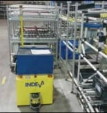 automatic guided vehicle TUGGER INDEVA AGV