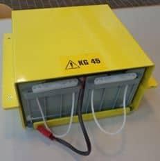 Jednotka batériových zdrojov - AGV