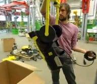 hydro-cleaner handling