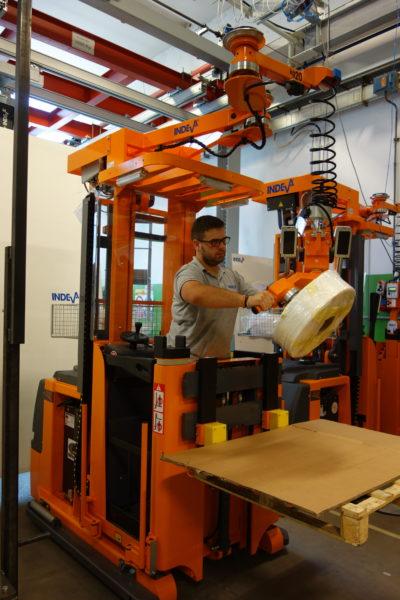 INDEVA Liftruck - Pre výber a kompletizáciu objednávok