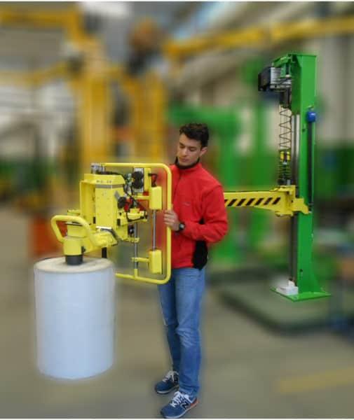 Nakladacie valce na baliace stroje bez námahy