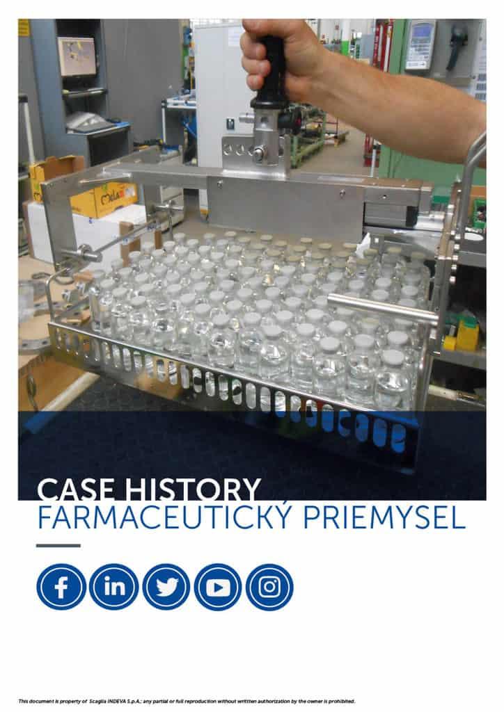 Prípadové štúdie INDEVA: manipulácia s predmetmi vo farmaceutickom priemysle v celkovej ergonómii a bezpečnosti, zvýšenie produktivity.
