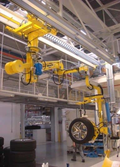 Manipulátory INDEVA vyhovujú potrebám kvalitného a bezpečnostného produktu, preto mnoho spoločností prijalo tento systém pre pohyb pneumatík. Použitie systému INDEVA umožňuje udržiavať konštantnú úroveň produktivity počas celej pracovnej zmeny, manipuláciu s nákladom v celkovej ergonómii a bezpečnosti.