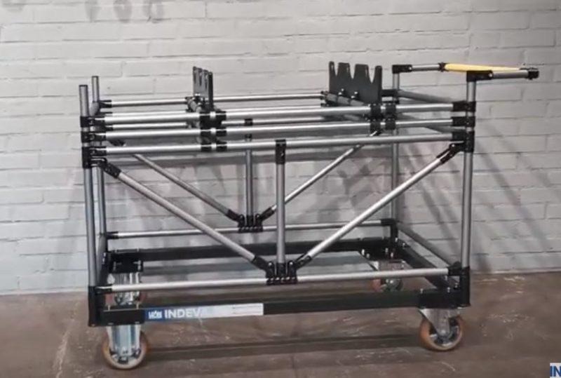 Nastaviteľná sada vozíkov pre vačkové hriadele